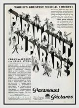 Affiche Paramount on Parade