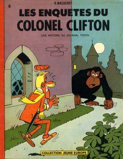 Couverture Les Enquêtes du colonel Clifton