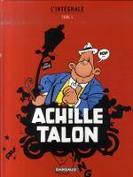 Couverture Achille Talon : L'Intégrale, tome 1