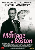 Affiche Un mariage à Boston