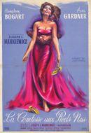 Affiche La Comtesse aux pieds nus