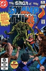 Couverture The Swamp Thing (1982 - 1996)