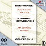 Pochette Piano Concertos Nos. 2 & 4