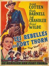 Affiche Les Rebelles de Fort Thorn