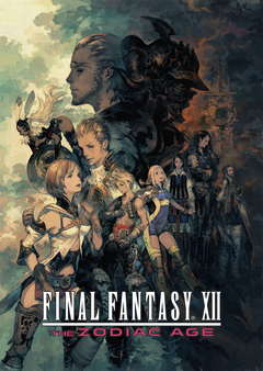 Jaquette Final Fantasy XII: The Zodiac Age