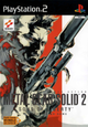 Jaquette Metal Gear Solid 2 : Sons of Liberty