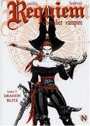 Couverture Dragon Blitz - Requiem, chevalier vampire, tome 5