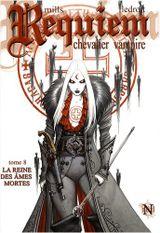 Couverture La Reine des âmes mortes - Requiem, chevalier vampire, tome 8