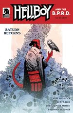 Couverture Saturn Returns - Hellboy and the B.P.R.D.