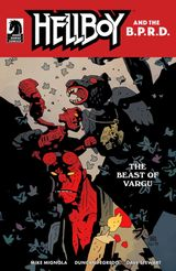 Couverture The Beast of Vargu - Hellboy and the B.P.R.D.