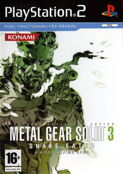 Jaquette Metal Gear Solid 3: Snake Eater