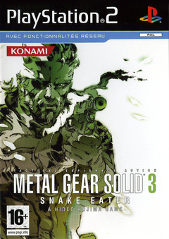 Jaquette Metal Gear Solid 3 : Snake Eater