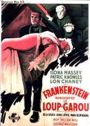 Affiche Frankenstein rencontre le loup-garou