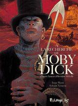 Couverture À la recherche de Moby Dick