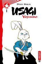 Couverture Usagi Yojimbo, tome 1