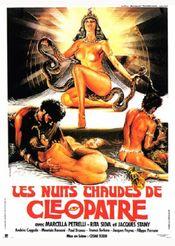 Affiche Les Nuits chaudes de Cléopâtre