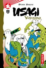 Couverture Usagi Yojimbo, tome 8