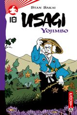 Couverture Usagi Yojimbo, tome 10