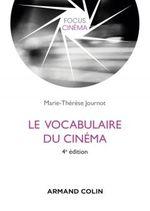 Couverture Vocabulaire du cinéma