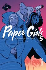 Couverture Paper Girls, tome 5