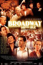 Affiche Broadway, 39ème rue