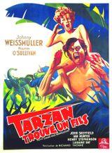 Affiche Tarzan trouve un fils