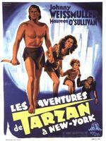 Affiche Les Aventures de Tarzan à New-York