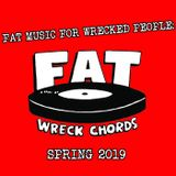 Pochette Fat Music for Wrecked People: Spring 2019