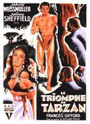 Affiche Le Triomphe de Tarzan