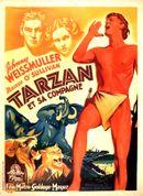 Affiche Tarzan et sa compagne