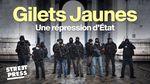 Affiche Gilets Jaunes, une répression d'Etat