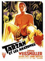 Affiche Tarzan et les Amazones
