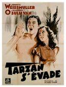 Affiche Tarzan s'évade