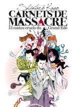 Couverture Carnets de massacre