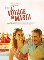 Affiche Le Voyage de Marta