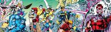 Cover X-Men 90's : ordre de lecture
