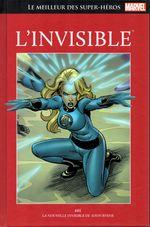 Couverture L'Invisible - Le Meilleur des super-héros Marvel, tome 87