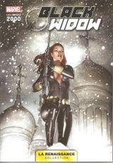 Couverture Black Widow - Marvel : Les Années 2000 (La Renaissance), tome 3