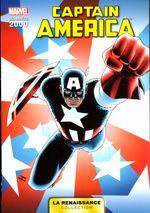 Couverture Captain America - Marvel : Les Années 2000 (La Renaissance), tome 4