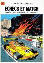 Couverture Échecs et match - Tif et Tondu, tome 30