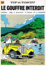 Couverture Le Gouffre interdit - Tif et Tondu, tome 26