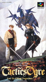 Jaquette Tactics Ogre : Let Us Cling Together