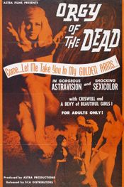 Affiche Orgy of the Dead