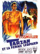 Affiche Tarzan et la Femme léopard