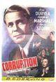 Affiche Corruption