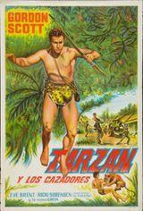Affiche Tarzan et les Trappeurs