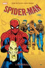 Couverture 1986 - Spider-Man : L'Intégrale, tome 24
