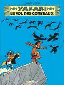 Couverture Le Vol des corbeaux - Yakari, tome 14