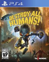 Jaquette Destroy All Humans! Remake