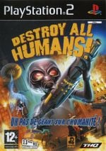 Jaquette Destroy All Humans !